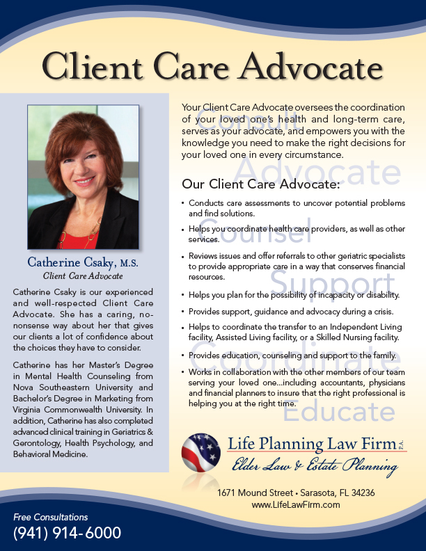 Client Care Advocate Flyer_REV Mar 2015 - FINAL in-house